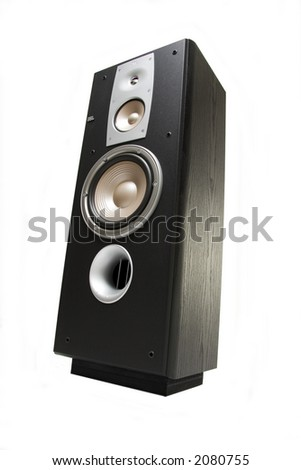 Speaker from different angles of view.