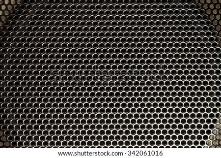 speaker mesh speaker, audio, background - stock photo