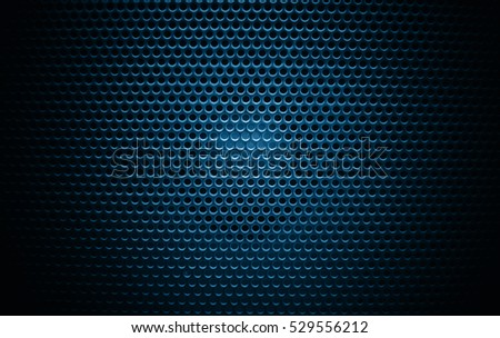 Speaker texture, blue and black