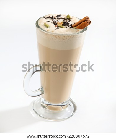special cold coffee  - stock photo