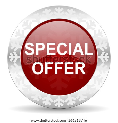 special offer icon - stock photo