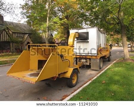 special scrap-yard car - stock photo