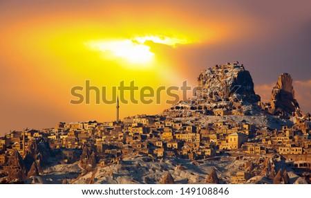 spectacular Cappadocia - stock photo