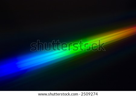 spectral color - stock photo