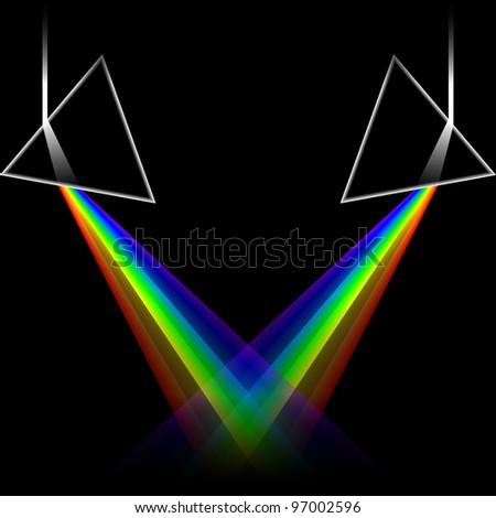spectrum doubles - stock photo