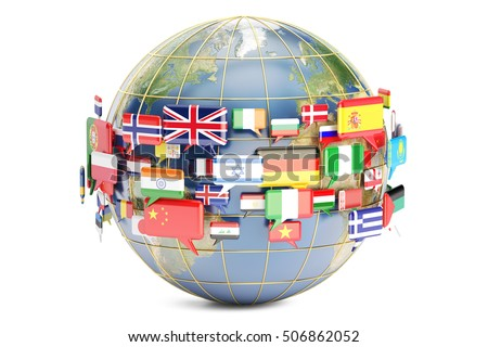 World Languages Stock Images RoyaltyFree Images Vectors - Languages on earth