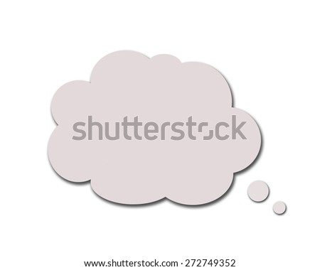 Speech bubbles. - stock photo