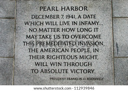 Pearl harbor bombing date
