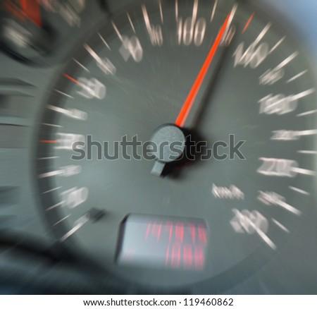 Speed concept - stock photo