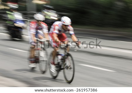 speed concept, motion blur . - stock photo