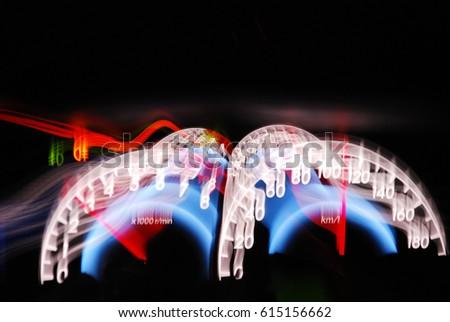 Lovely Speed Light On Milwaukee Speedometer Photo Gallery