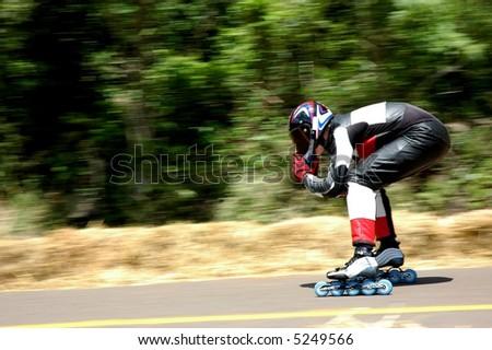 Speed Roller - stock photo