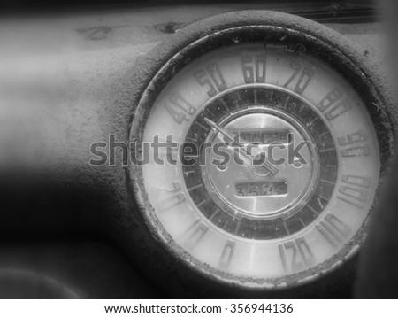 Speeding - stock photo