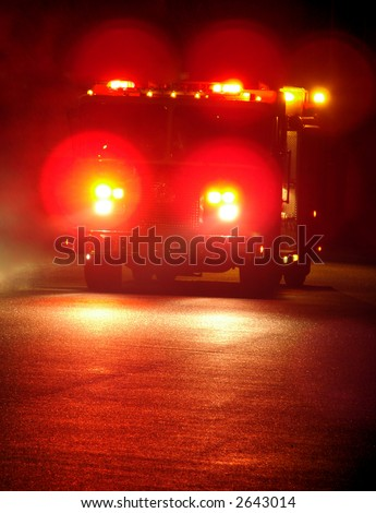 Emergency Flashing Light Red That Stock Photos Images