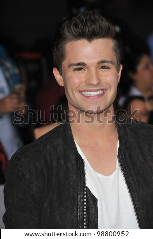 "Spencer Boldman at the world premiere of ""John Carter"" at the Regal Cinemas L.A. Live. February 22, 2012  Los Angeles, CA Picture: Paul Smith / Featureflash - stock photo"