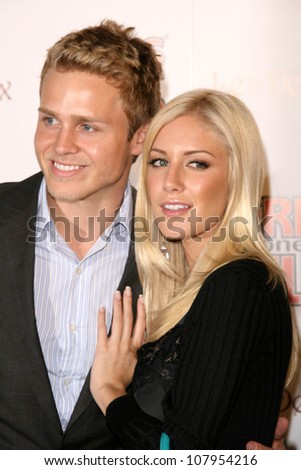 Spencer Pratt and Heidi Montag  at the party celebrating the 2nd Issue of Girls Gone Wild Magazine. Les Deux, Hollywood, CA. 06-04-08