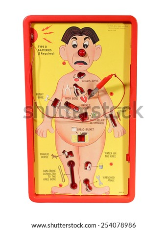 SPENCER , WISCONSIN,  February, 19, 2015  Operation Game. The Operation Game was introduced in 1965 by Milton Bradley. - stock photo