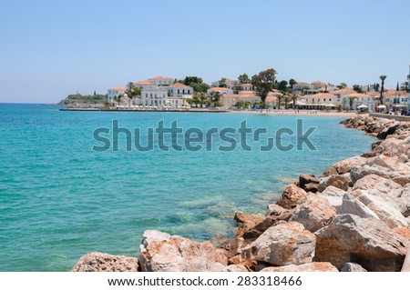 Spetses, Greek  island