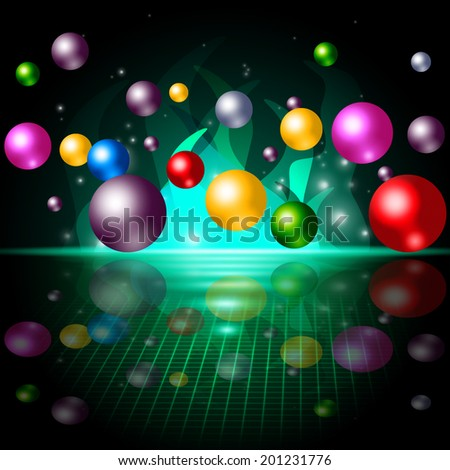 Sphere Color Meaning Spherical Spheres And Colors - stock photo