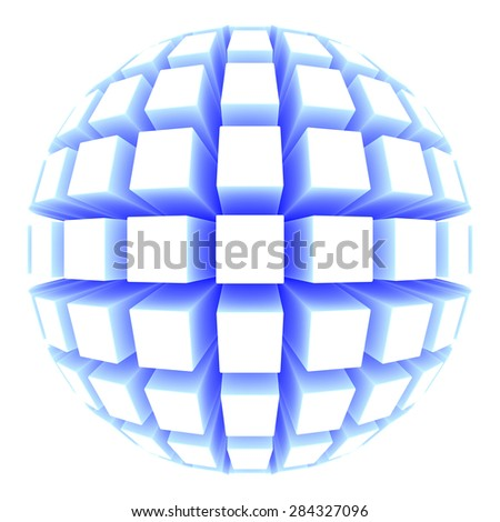 sphere with square faces