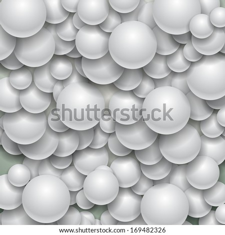 Spheres - Abstract Background Design, Illustration - stock photo