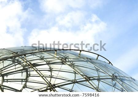 spheric structure - stock photo
