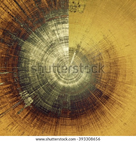 Spherical hi res grunge texture or retro background. With different color patterns: yellow (beige); brown; gray; black; white - stock photo