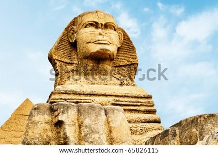 Sphinx - stock photo
