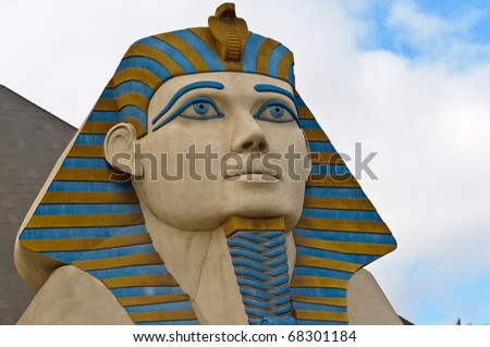 Sphinx in Las Vegas - stock photo