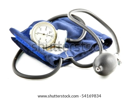 Sphygmomanometer isolated