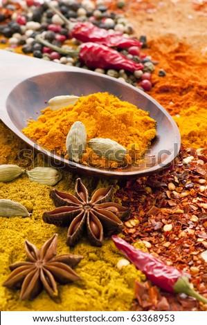 Spice Mix - stock photo