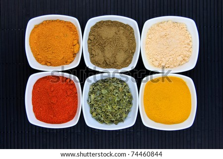 Spices of India - stock photo