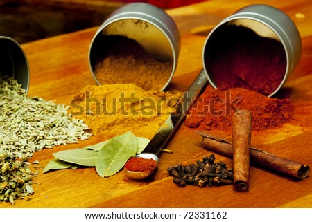 Spicy - stock photo