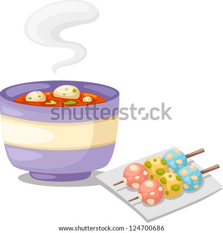 Spicy soup (Thai 's Tomyum) .JPG (EPS vector version id 111938900,format also available in my portfolio) - stock photo