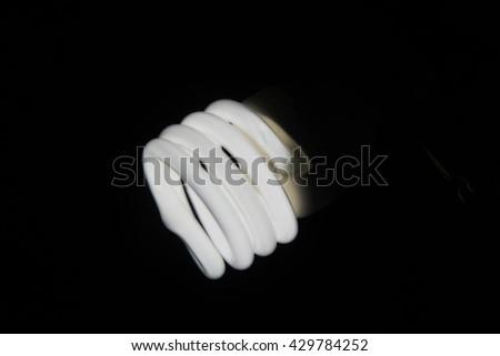 Spiral Bulb - stock photo
