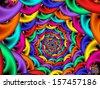 Spiral Descend - stock photo