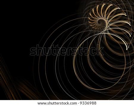 spiral hole - stock photo