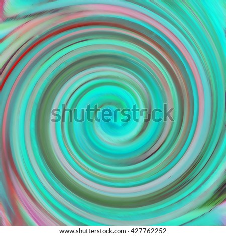 Spiral movement. Abstract colorful design. Illustration. - stock photo