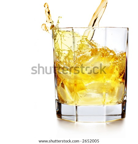 Splash - stock photo