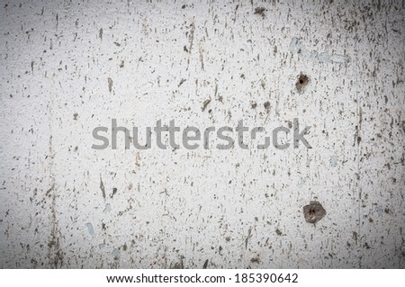splash on concrete wall background - stock photo