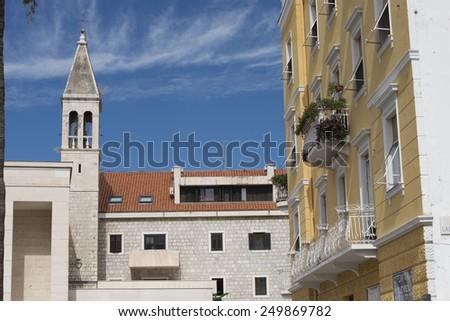 Split, Crovatia - stock photo