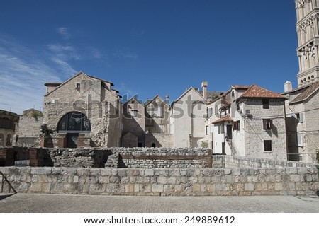 Split Old Town - stock photo