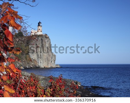 Split Rock Lighthouse on the Lake Superior north shore