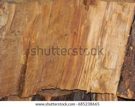 Split wood texture