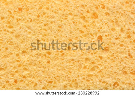 Sponge for dishes texture