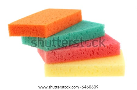 sponges for various kinds of homework