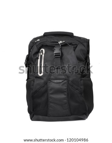 Sport bag isolated on white background