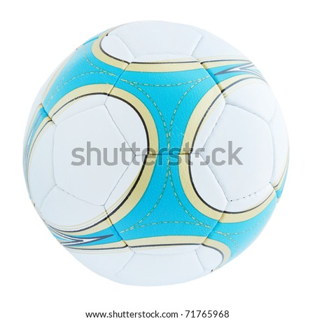 Sport ball for the game into the football - stock photo