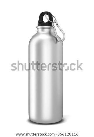 Sport bottle. 3d illustration isolated on white background