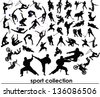 Sport collection vector - stock vector